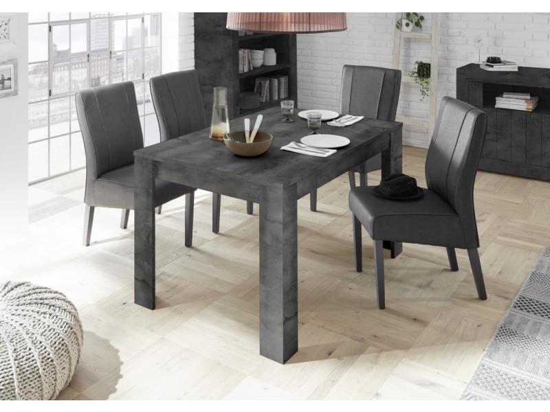 à urban cm gris manger Table anthraciterallonge 50 140 cm 1TlKuc3FJ5