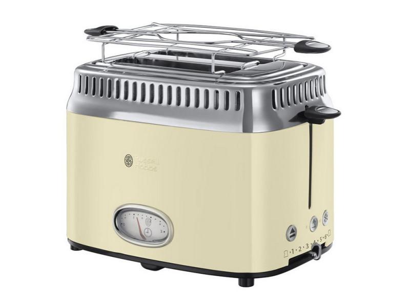 Grille-pains 2 fentes 1300w crème - 21682-56 RUS4008496874675