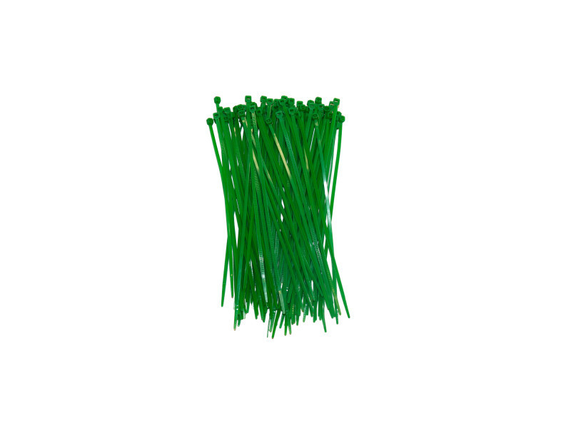 Attache canisse vert plastique vert