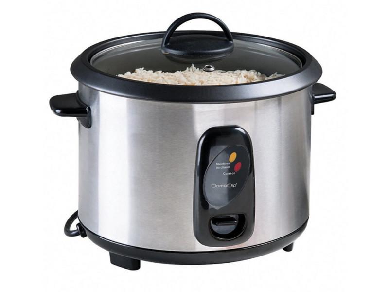Cuiseur à riz et vapeur 1.8l 700w inox - doc100a doc100a
