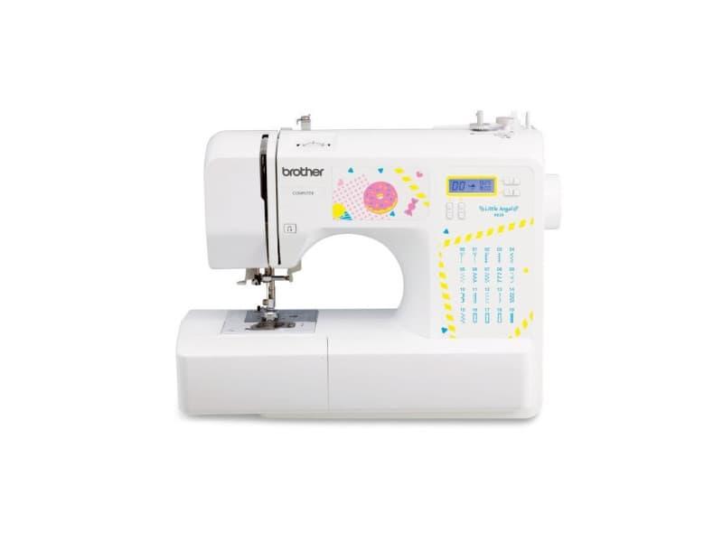 Brother ke20 - machine a coudre electronique pour jeunes creatifs- 20 points de couture - protege-doigts - systeme denfile-aigui BRO4977766806381