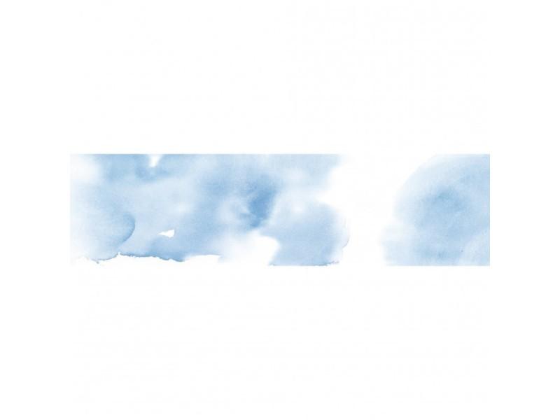 Brise vue 100% occultant nuage bleu 300 x 80 cm - canisse brise vent pour clôture de jardin