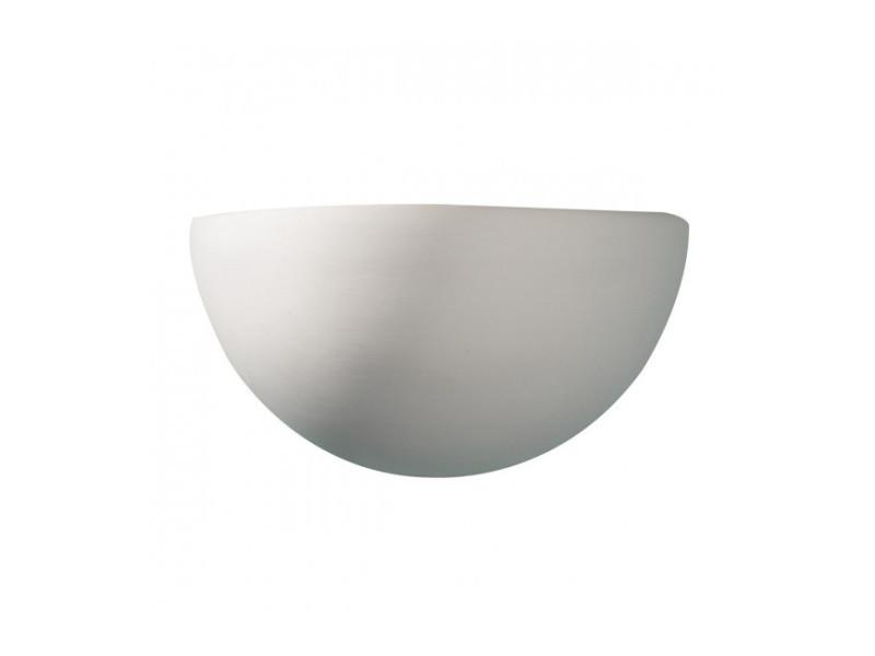 Applique murale marino blanc et céramique 1 ampoule