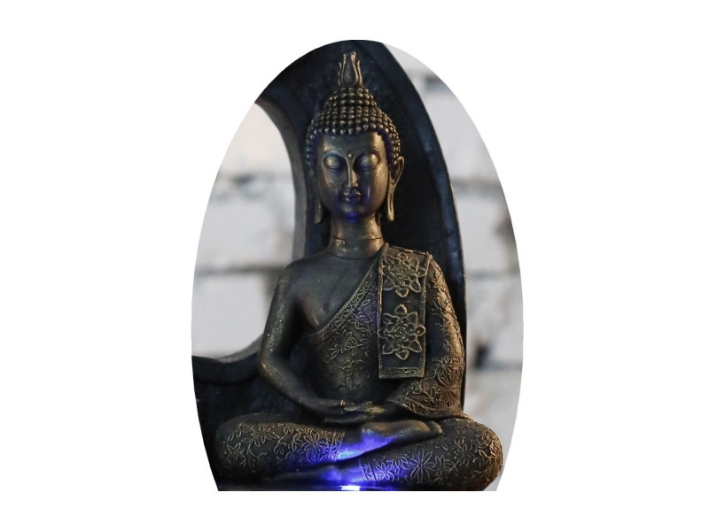 Statuette - bouddha thai - h 25 cm