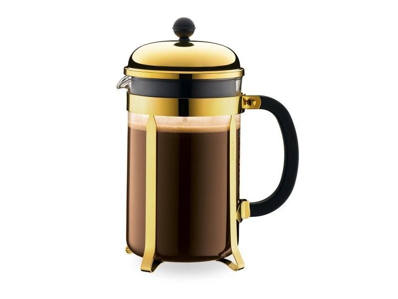 Bodum chambord® cafetière à piston, 12 tasses, 1.5 l, acier inox 1932-17