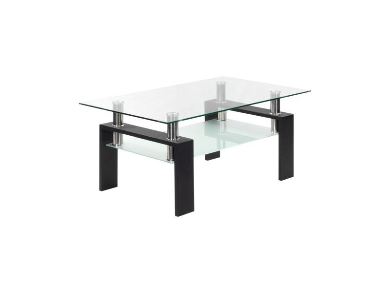 Porter - table basse noir