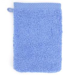 Gant de toilette 16x21 cm pure bleu mer550 g/m2