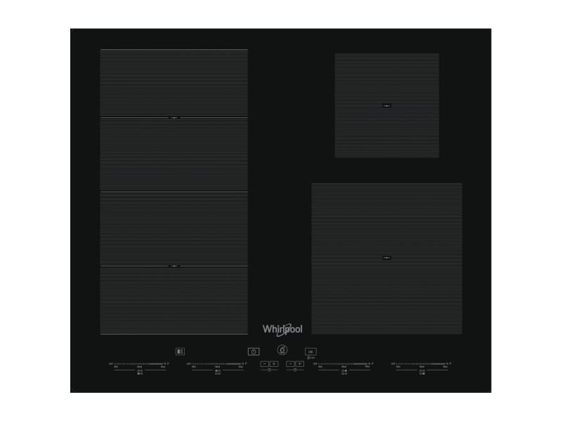 Whirlpool smc 504/f/ne plaque noir intégré (placement) plaque avec zone à induction 4 zone(s)