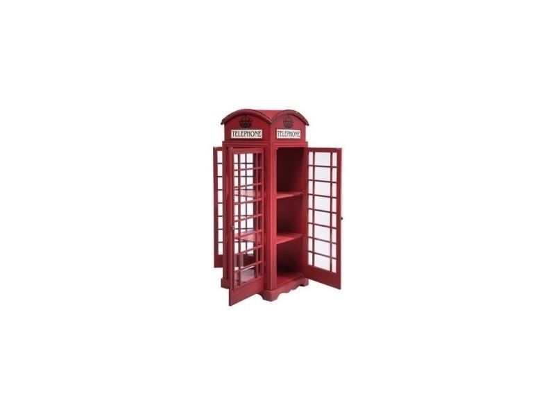 Armoire Cabine Téléphonique Anglaise Rouge. Prevnext