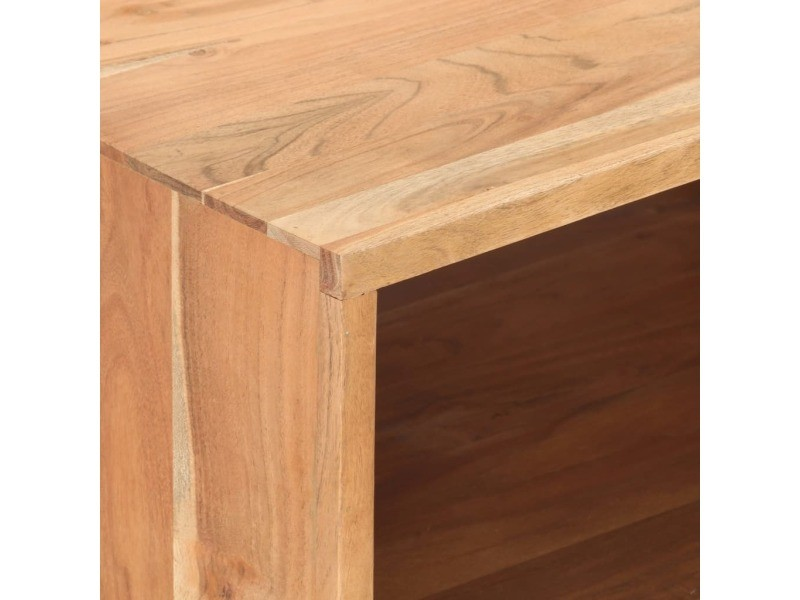 Vidaxl table basse 100x50x45 cm bois d'acacia massif 287867