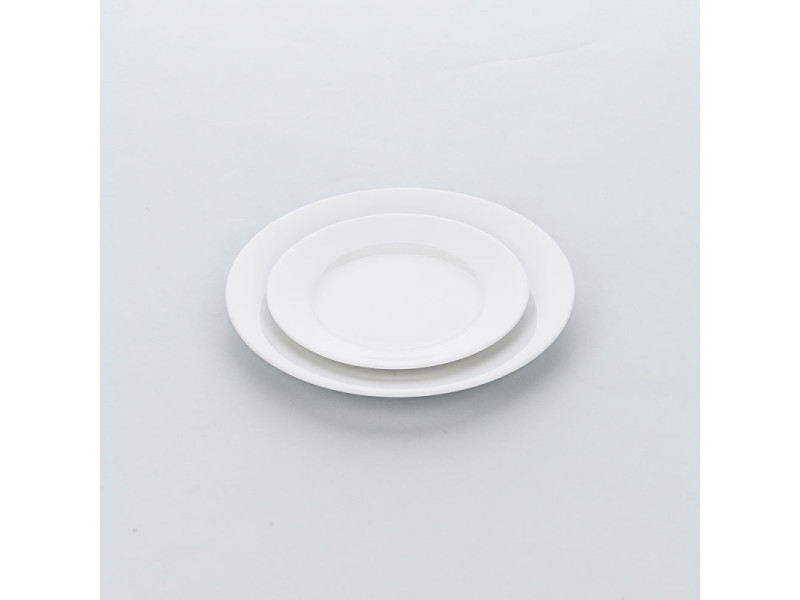 Assiette porcelaine ronde apulia ø 190 à 320 mm - lot de 6 - stalgast - 19 cm porcelaine 260 (ø) mm