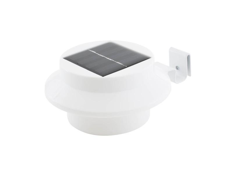 L200 Blanc Et Pour Clôture Led Beesolar Gouttière Lampe Solaire SMpVUqz