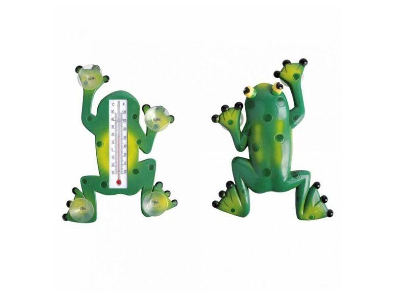 Thermomètre grenouille - accessoire de jardin
