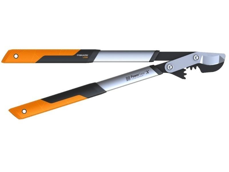Coupe-branches powergear x - m à crémaillère et à lame franche 65 cm - ø 50 mm fiskars 112390