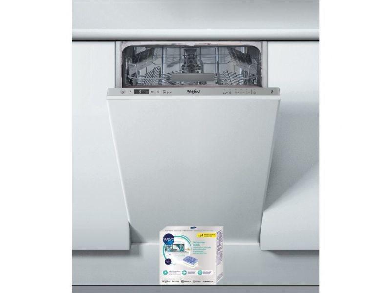 Lave-vaisselle tout intégrable encastrable 47db a+ 10 couverts 45cm 6eme sens