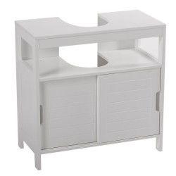 Des meubles de salle de bain beaux pratiques et con us - Meuble sous lavabo avec pied ...