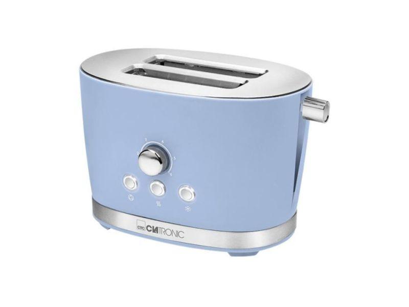 Clatronic grille-pain toaster ta 3690 - bleu 420253