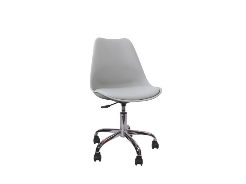 chaise de bureau ormond office couleur gris