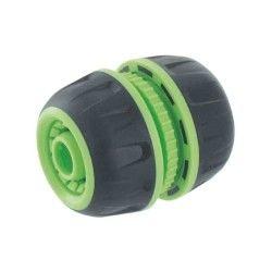 Cap vert - raccord réparateur de tuyau d'arrosage soft ø 15 mm