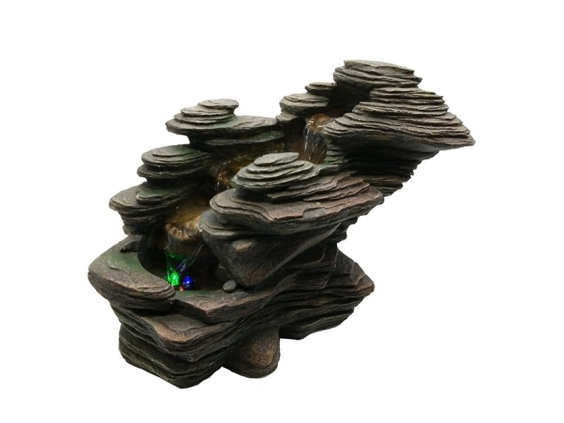 Grande fontaine rocher rivière shoromi jin
