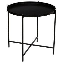 Table à café métal kylian noir