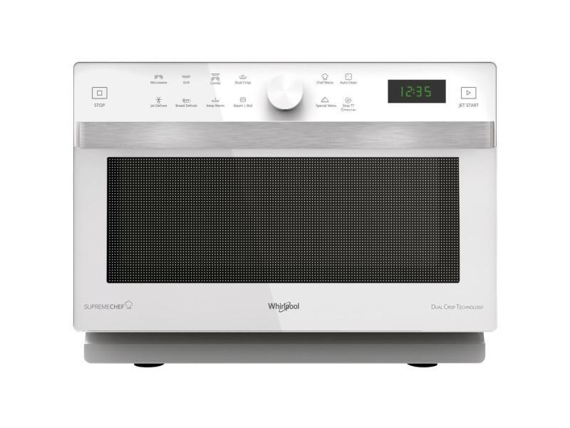 Whirlpool mwp 337 w countertop grill microwave 33l 900w blanc