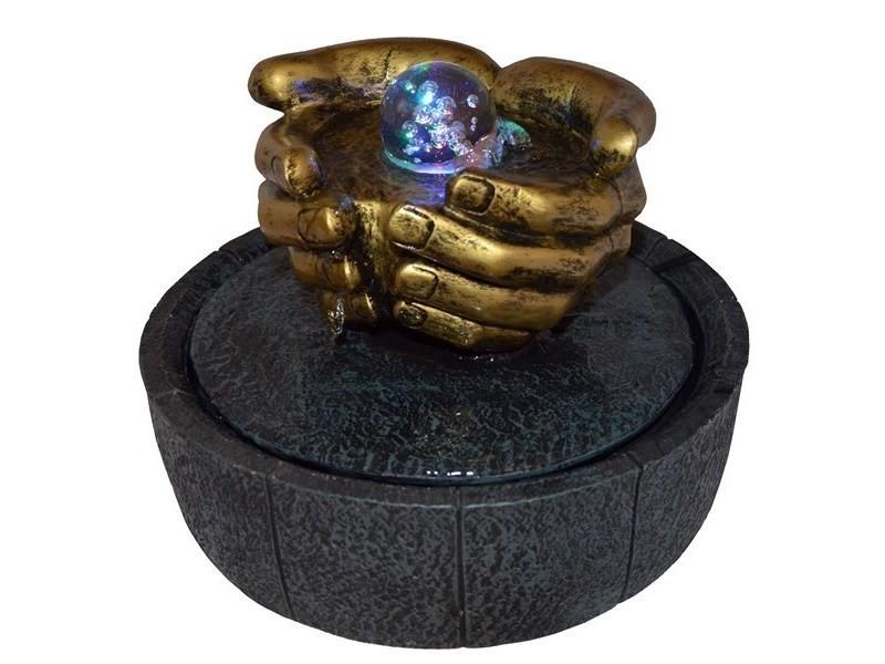 Fontaine intérieur mains et boule de verre zoku yomi