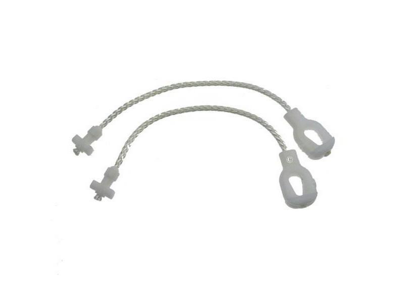 Jeu de 2 cables de porte lave-vaisselle brandt 32x1853