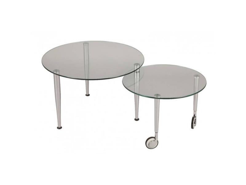 table basse eight en verre transparent 20100841526 vente de table basse conforama. Black Bedroom Furniture Sets. Home Design Ideas