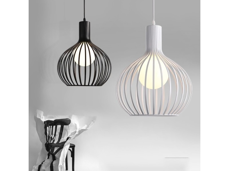 Lampe Suspendue Luminaire Salon Led Lustre Industriel Creatif