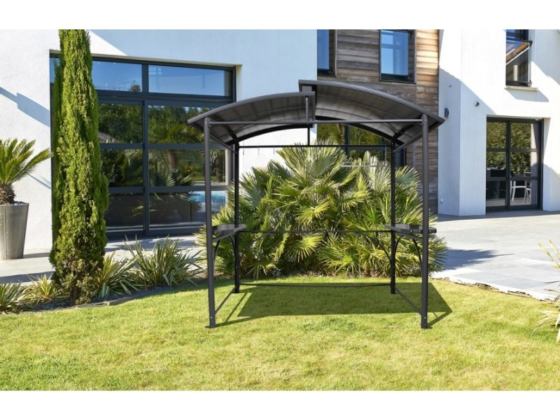 abri de barbecue en aluminium vente de pergola et auvent. Black Bedroom Furniture Sets. Home Design Ideas