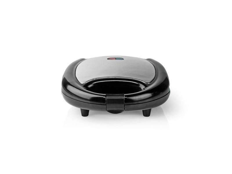 Gaufrier 750 w noir machine à gauffres avec revêtement antiadhésif
