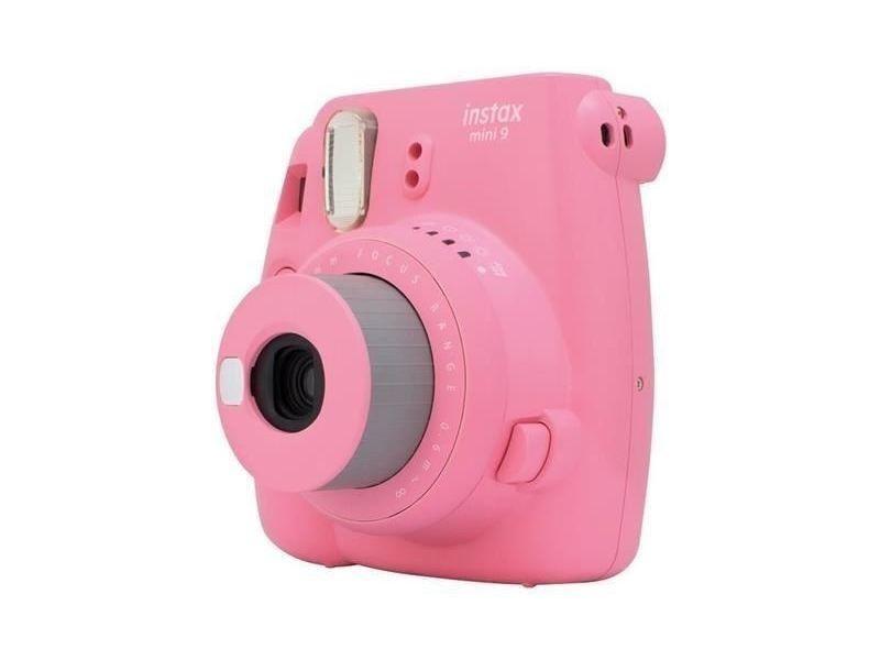 Fujifilm Instax Mini 9 Appareil Photo Instantane Rose Corail Avec 10