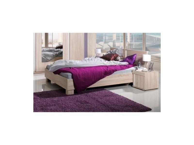 Ensemble pour chambre à coucher avignon. Lit 160x200 cm + commode + chevets  + sommier. prevnext 2e98af96044b