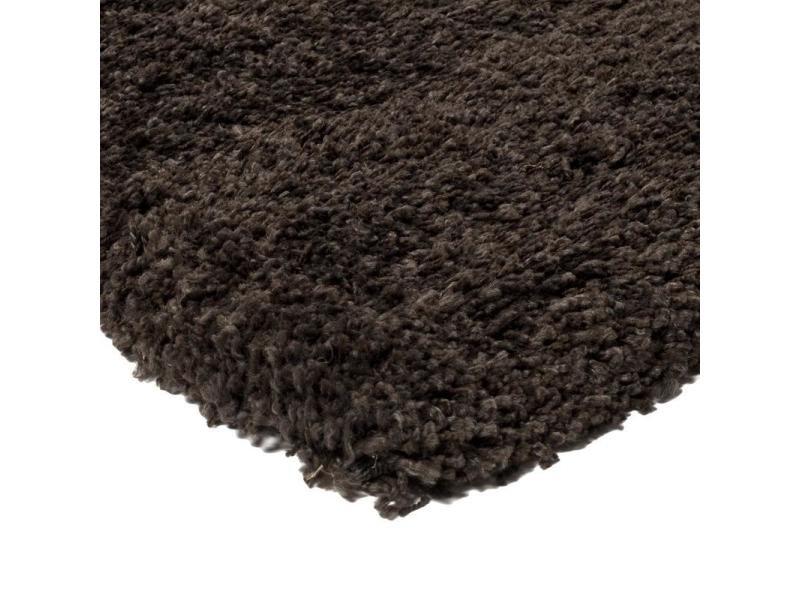Imperial shaggy tapis 160 x 230 chocolat pp - Vente de Tapis ...