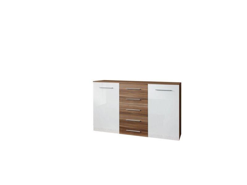 Buffet design athens - l. 150 x h. 103 cm - blanc