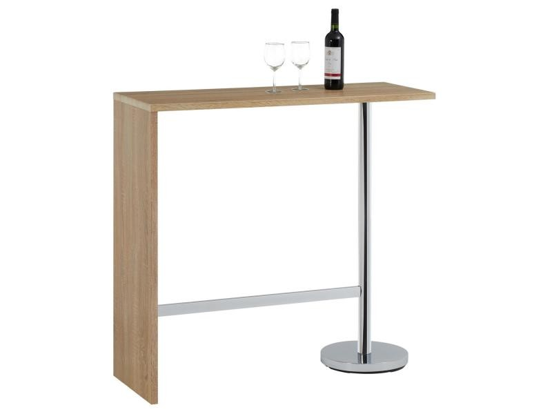 Table haute de bar ricardo mange debout comptoir pi tement for Meuble bar mange debout