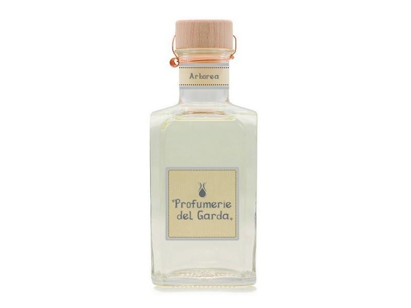 Homemania diffuseur arborea - assainisseur d'air avec bâtons - parfum boisé - 500 ml jaune clair en verre, bois, parfum, 7,5 x 7,5 x 19 cm