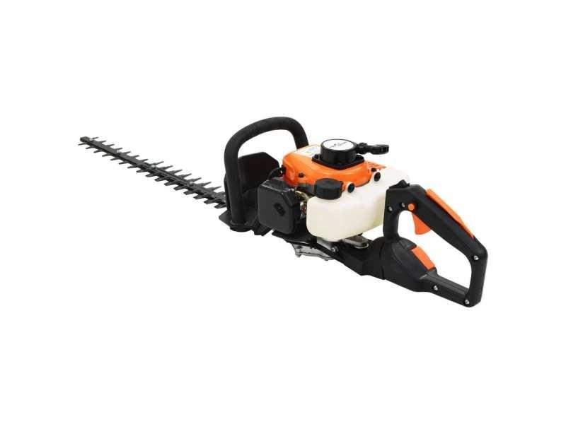 Icaverne - taille-haies edition taille-haie à essence 722 mm orange et noir