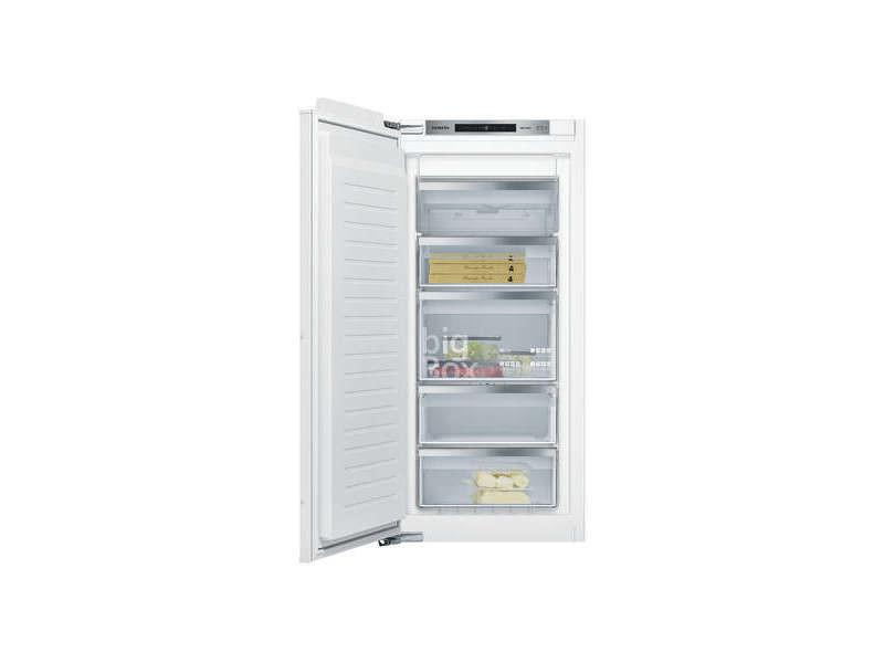 Congélateur intégrable 127l froid ventilé siemens 55.8cm a++, gi 41 nace 0