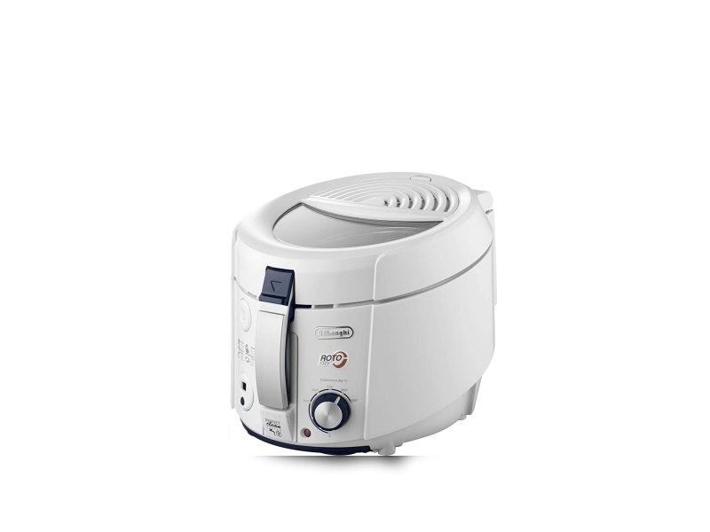 Friteuse électrique 1,2l de 1kg avec fonctions du minuteur 1800w blanc