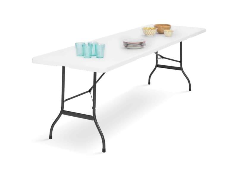 Table Pliante D Appoint Portable Pour Camping Ou Reception 180 Cm Vente De Id Market Conforama