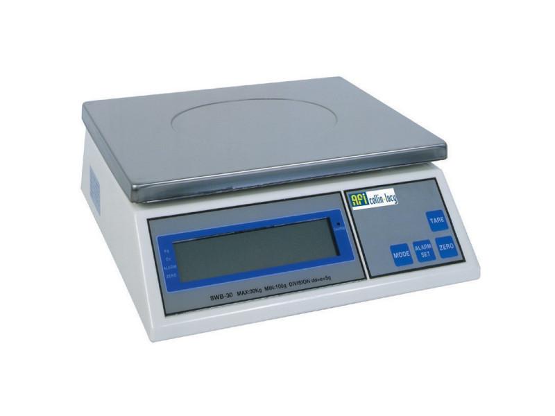 Balance de cuisine professionnelle de 6 kg à 30 kg - afi collin lucy - 6 kilos - 1 gramme