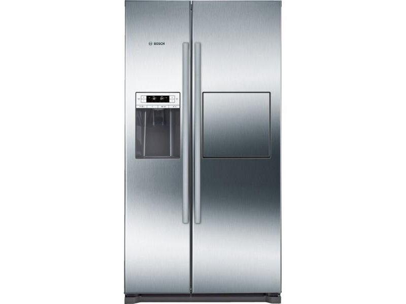 Réfrigérateur américain 91cm 522l a+ no frost inox - kag90ai20 BOSCH