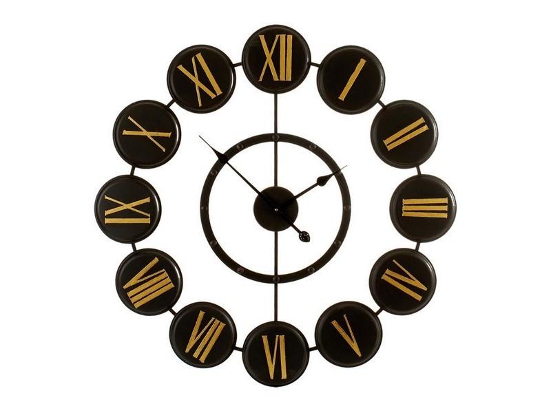 Horloges murales et de table esthetique horloge murale métal métal (80 x 4 x 80 cm)