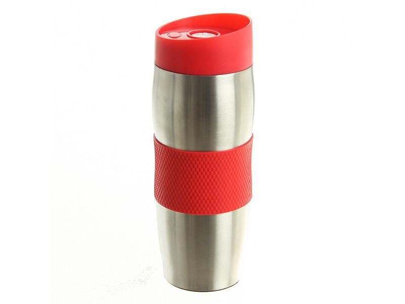 Travel mug superbe mug double paroi isotherme - rouge
