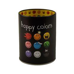 Pot a crayons - happy colors