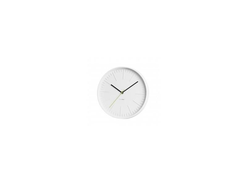 horloge murale zen blanche vente de balvi conforama. Black Bedroom Furniture Sets. Home Design Ideas