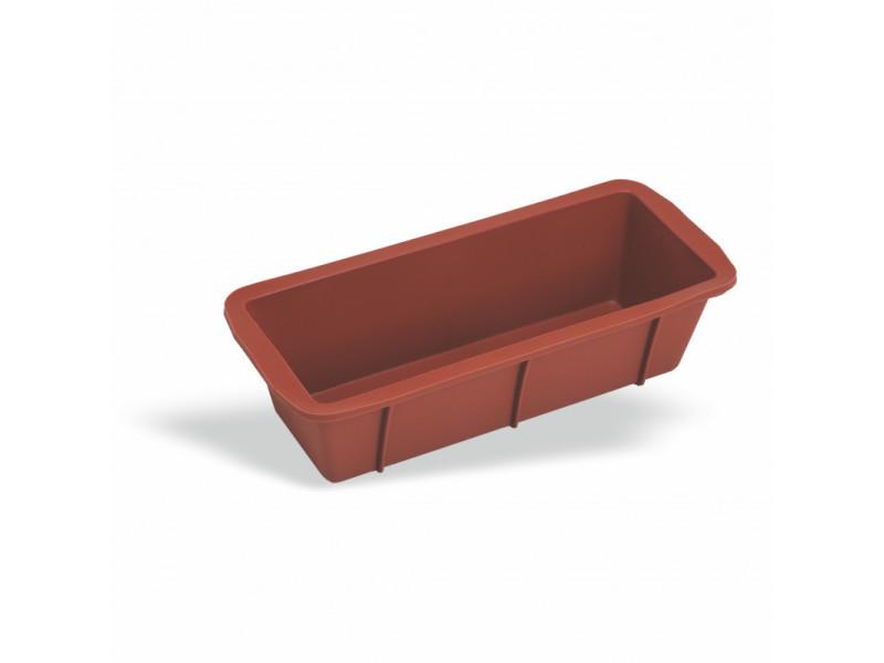 Moule à cake en silicone rouge l 24 à 26 cm - pujadas - silicone l 26 cm