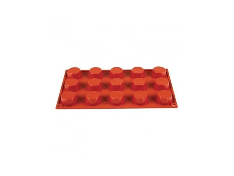 Moule à 15 petits-fours en silicone pavoni - silicone